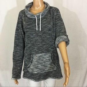 KENSIE PERFORMANCE Active Top Grey Size L